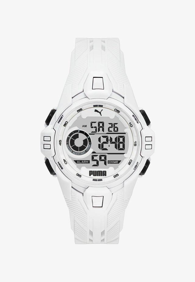 BOLD - Orologio digitale - white