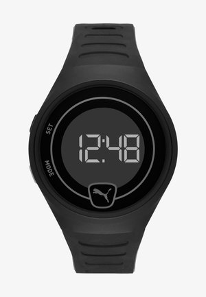 FASTER - Digital watch - black