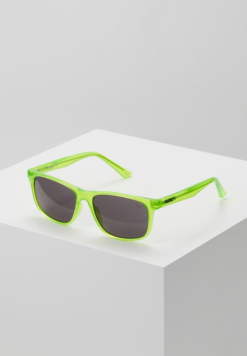 Puma - SUNGLASS KID INJECTION - Sluneční brýle - green