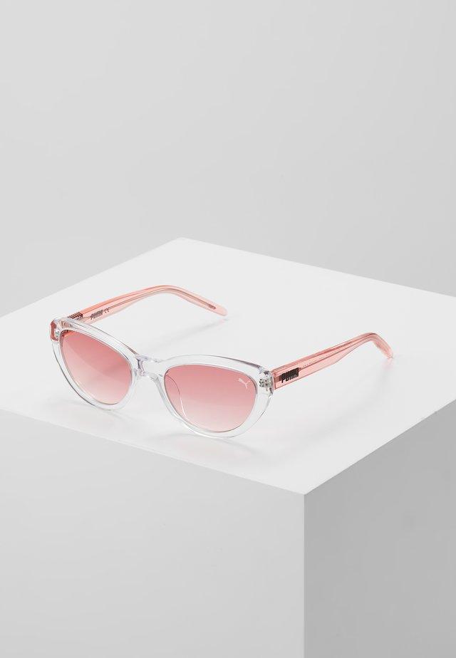SUNGLASS KID ACETATE - Okulary przeciwsłoneczne - crystal/pink/pink