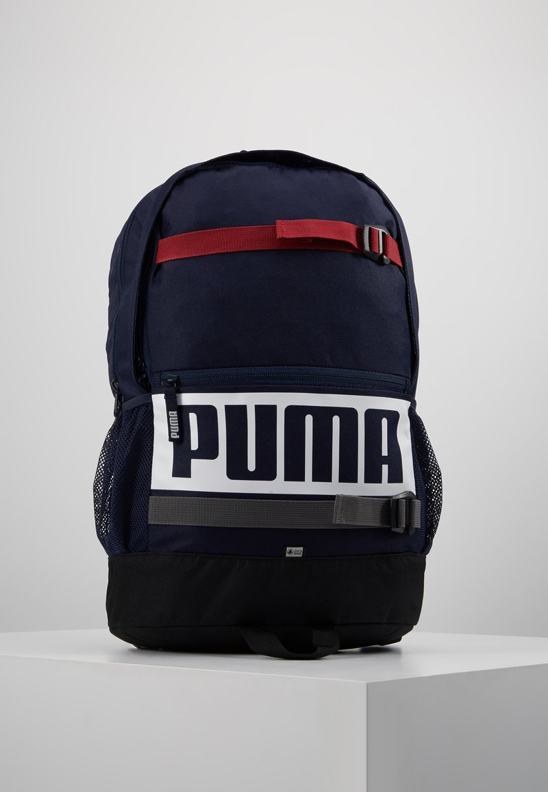 Puma - DECK BACKPACK - Reppu - peacoat