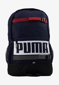 Puma - DECK BACKPACK - Reppu - peacoat - 6
