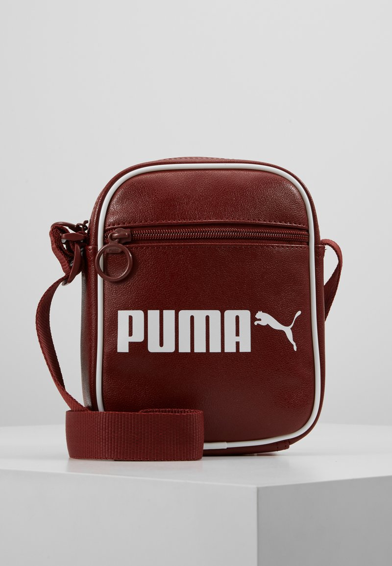 Puma - CAMPUS PORTABLE RETRO - Across body bag - fired brick