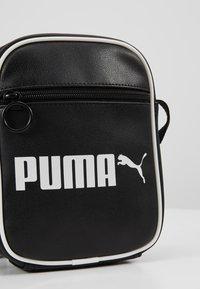 Puma - CAMPUS PORTABLE RETRO - Across body bag - black - 7