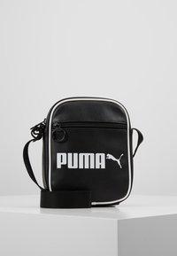 Puma - CAMPUS PORTABLE RETRO - Across body bag - black - 0