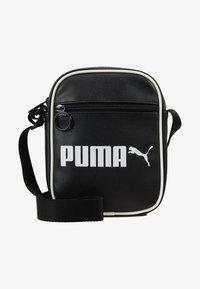 Puma - CAMPUS PORTABLE RETRO - Across body bag - black - 6