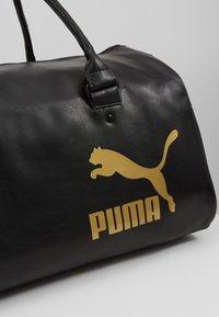 Puma - ORIGINALS GRIP BAG RETRO - Treningsbag - black - 7