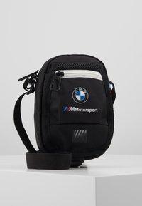 Puma - BMW SMALL PORTABLE - Across body bag - black - 0