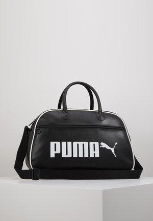 CAMPUS GRIP BAG RETRO - Sportstasker - black