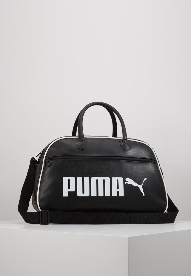 CAMPUS GRIP BAG RETRO - Sporttas - black