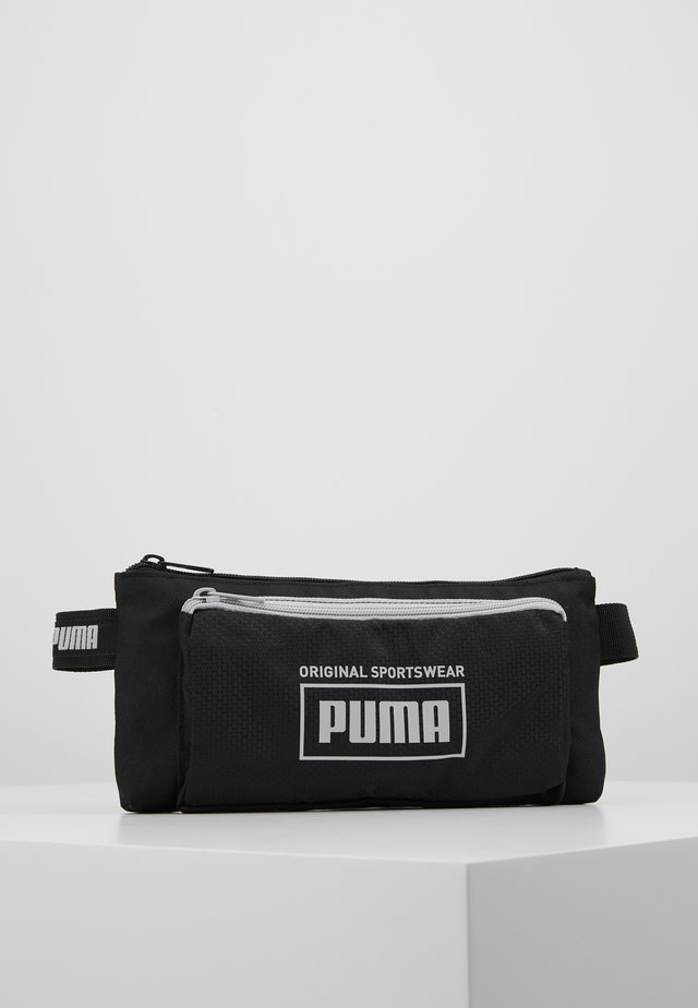 SOLE WAIST BAG - Ledvinka - black