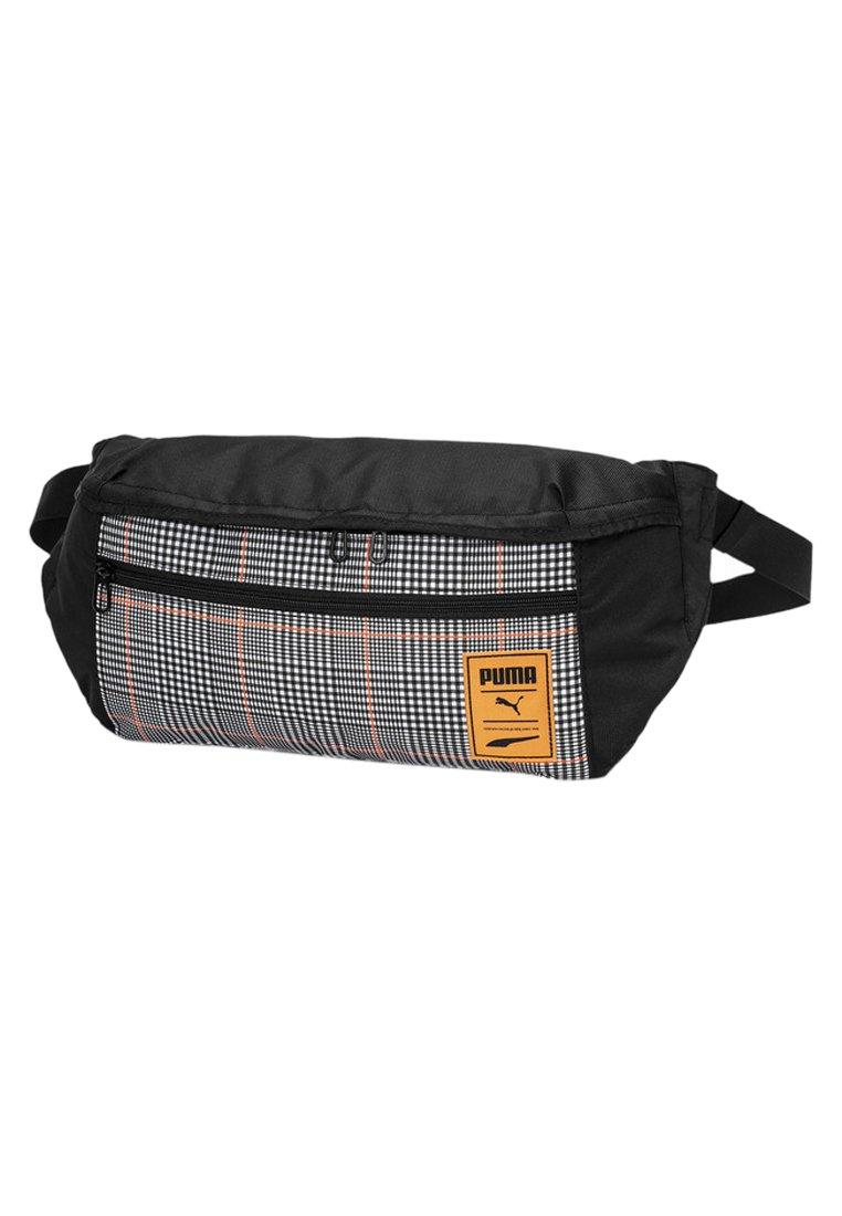 Puma - Bum bag - black-vibrant orange-ao