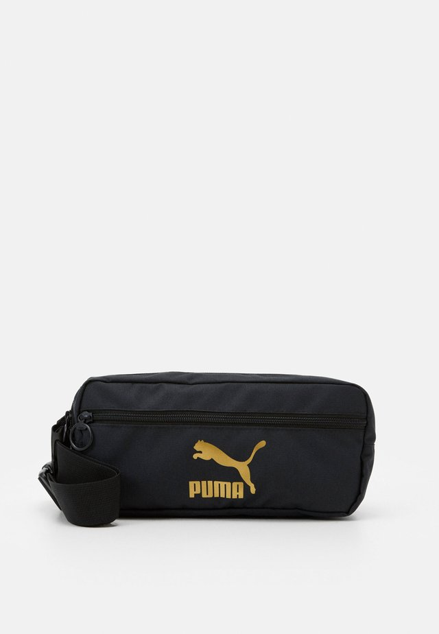 ORIGINALS WAIST BAG - Ledvinka - black/gold