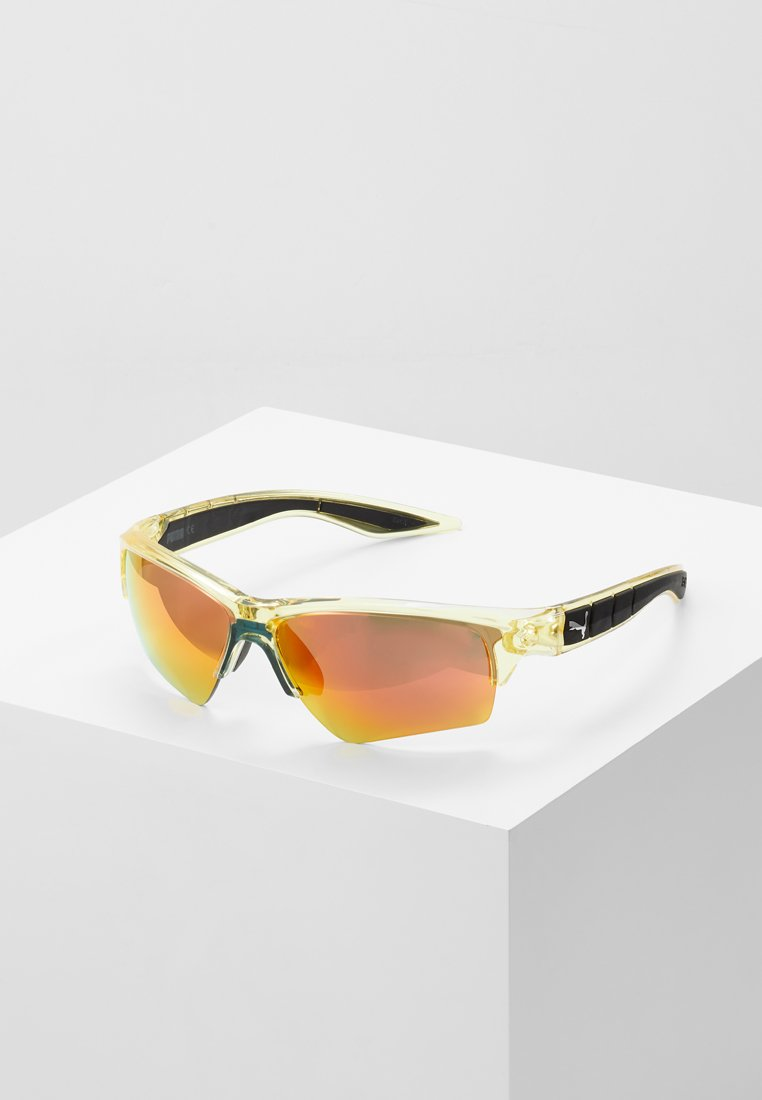 Puma - Sonnenbrille - yellow/red