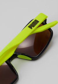 Puma - Sunglasses - black/yellow/gold - 2