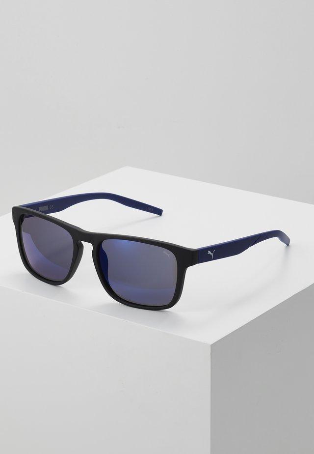 Sunglasses - black/blue