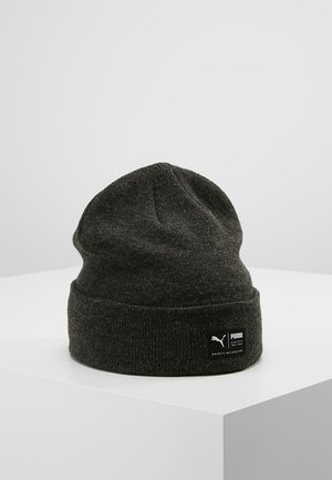 ARCHIVE HEATHER BEANIE - Gorro - black