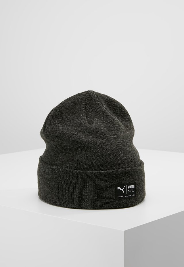 ARCHIVE HEATHER BEANIE - Pipo - black