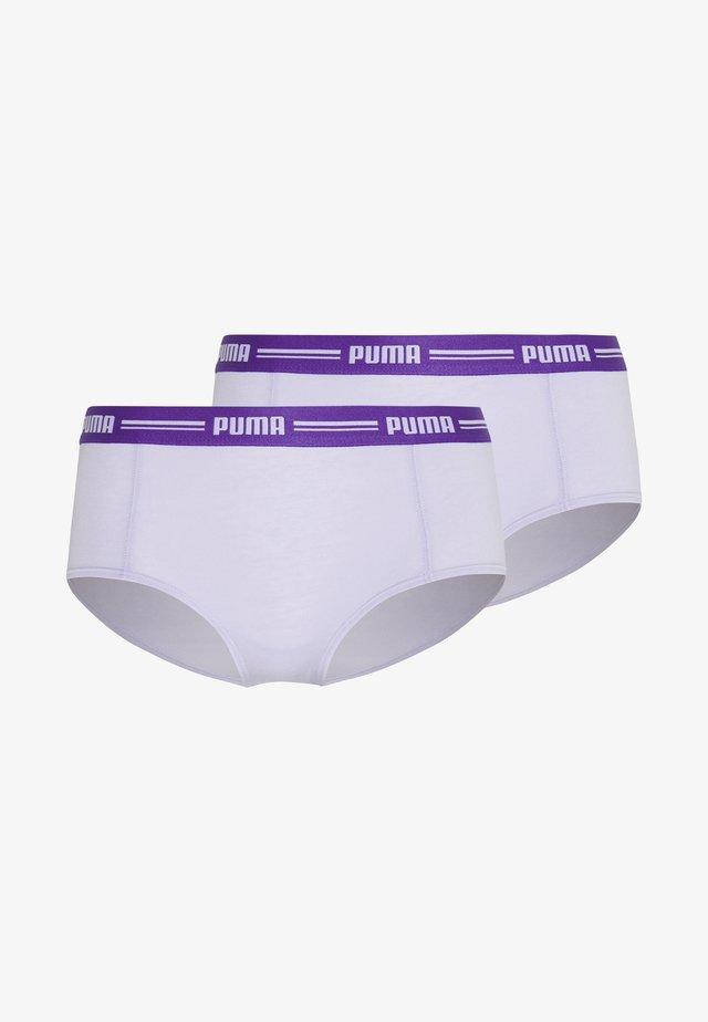 ICONIC MINI 2 PACK - Panties - purple combo