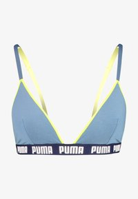 Puma - TRIANGLE BRALETTE HANG - Triangel BH - blue - 3
