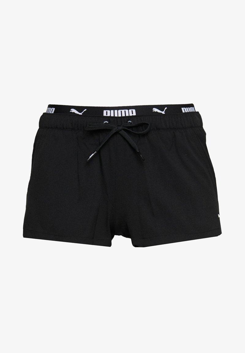 Puma - SWIM WOMEN BOARD - Bikiniunderdel - black
