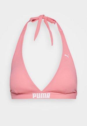 SWIM HALTER STRAPS  - Bikinitop - light pink