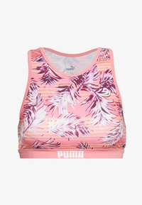 Puma - SWIM WOMEN RACERBACK - Bikinitopp - light pink - 3