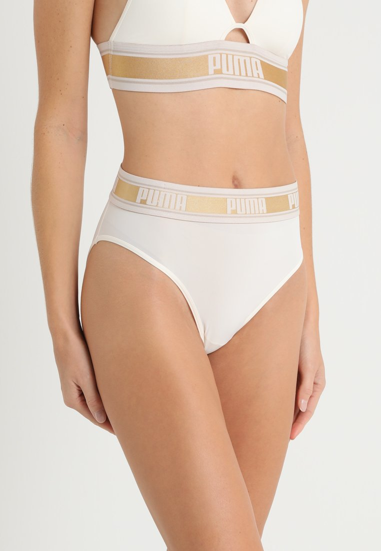 Puma - HIGH LEG BRIEF HANG - Slip - white/gold