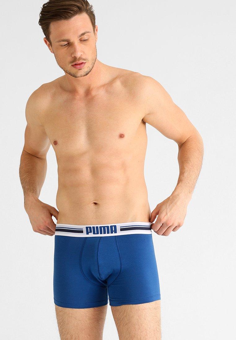 Puma - BASIC 2 PACK - Shorty - blue