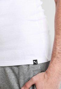 Puma - BASIC 2 PACK  - Undershirt - white - 4