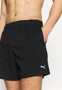Puma - SWIM MEN MEDIUM - Shorts da mare - black - 2