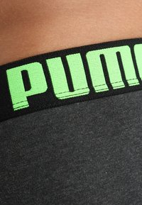 Puma - 3 PACK - Shorty - black/green/grey