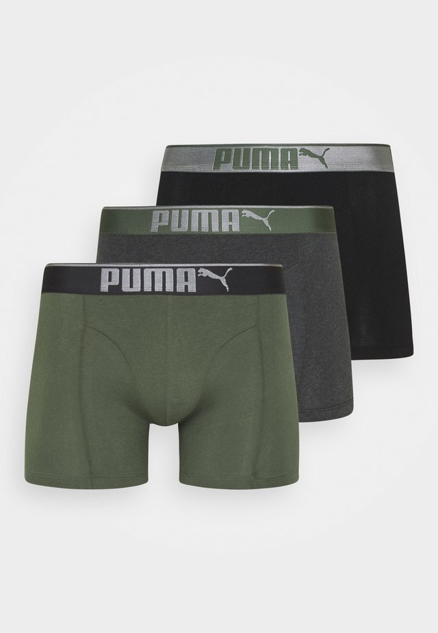 LIFESTYLE 3 PACK  - Underbukse - army green