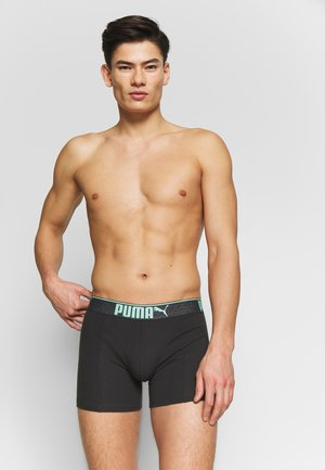 LIFESTYLE SUEDED BOXER 3 PACK  - Shorty - mint combo