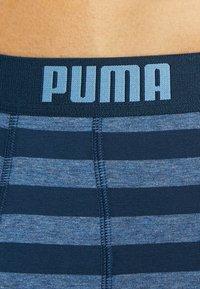 Puma - STRIPE BOXER 2 PACK - Shorty - denim - 5