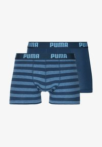 Puma - STRIPE BOXER 2 PACK - Shorty - denim - 4
