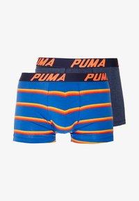 Puma - BASIC BOXER 2PACK - Underkläder - navy/red - 3