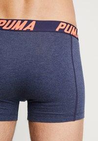 Puma - BASIC BOXER 2PACK - Underkläder - navy/red - 2