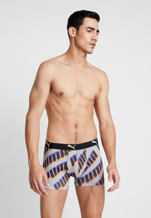 PUMA BASIC BOXER WORDING 2 PACK - Culotte - navy/red