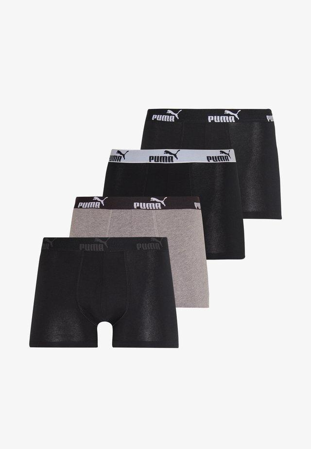 PROMO SOLID 4 PACK - Onderbroeken - black