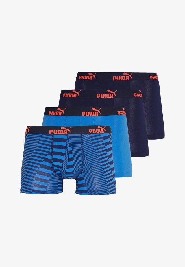 PROMO 4 PACK - Panties - blue/red