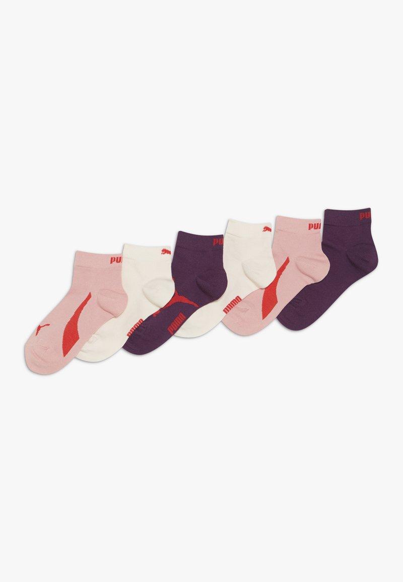 Puma - KIDS LIFESTYLE QUARTERS 6 PACK - Socks - rose