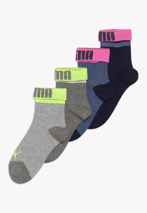 GIRLS 4 PACK - Socks - mid grey