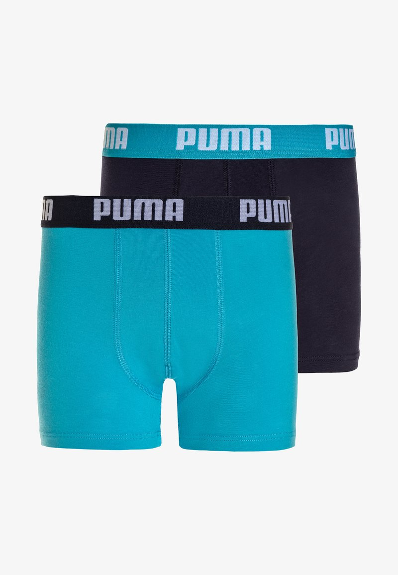 Puma - BASIC BOXER 2 PACK - Pants - bright blue