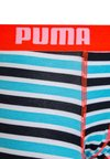 Puma - BASIC BOXER PRINTED 2 PACK - Panties - fluo red/blue
