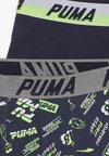 Puma - BOXER SEASONAL PRINT BOYS 2 PACK - Panties - navy/green