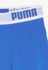 Puma - BOYS BASIC 2 PACK - Shorty - blue/grey - 4