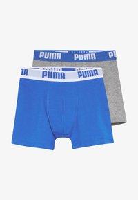 Puma - BOYS BASIC 2 PACK - Shorty - blue/grey - 3