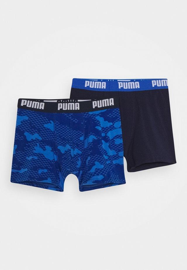 KIDS CAMO BOXER 2 PACK - Panties - blue