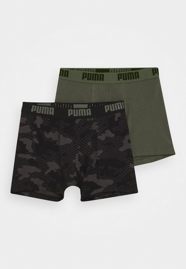 KIDS CAMO BOXER 2 PACK - Underbukse - army green